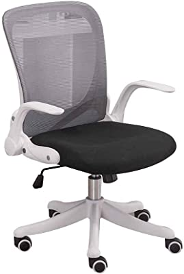 Amazon.com: Kaimeng Office Chair Desk Leather Gaming Chair ...