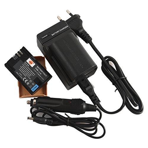 DSTE 2-Pack Batteria + Doppio USB Caricabatteria per Canon LP-E6 LP-E6N EOS 5D 7D Mark III, 5D 7D Mark II 5DS 6D 70D 60D 60Da 80D