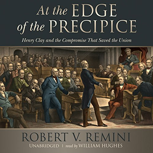 At the Edge of the Precipice audiobook cover art