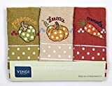 Vingi Set 3 Strofinacci da Cucina Art. Infinity, Spugna 100% Cotone, Misura 47 x 70 Colori...
