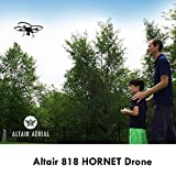 Altair 818 Hornet Beginner Drone with Camera   Live Video Drone for Kids & Adults, 15 Min Flight Time, Altitude Hold, Personal Hobby Starter RC Quadcopter for All Ages (Yellow 818 Hornet)