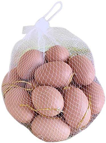 Uovo di Pasqua 20 Pezzi di Uova Finte in Plastica Uova di Pasqua Fai-da-Te Pittura E Uovo Realistico,A66Eggs