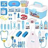 Faburo 47 Stück Arztkoffer Kinder Medizinisches Spielzeug Doktor Set...*