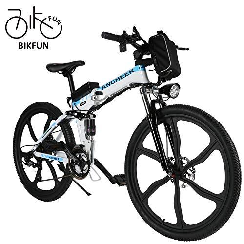 BIKFUN Vélo de Montagne Pliable pour vélo...