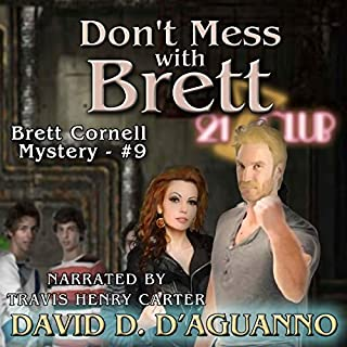 Don't Mess with Brett audiobook cover art