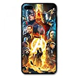 iPhone 7 Plus Case iPhone 8 Plus Case Endgame Comic Design Cover Cases for iPhone 7/8 Plus 5.5' (Avengers-Gold)