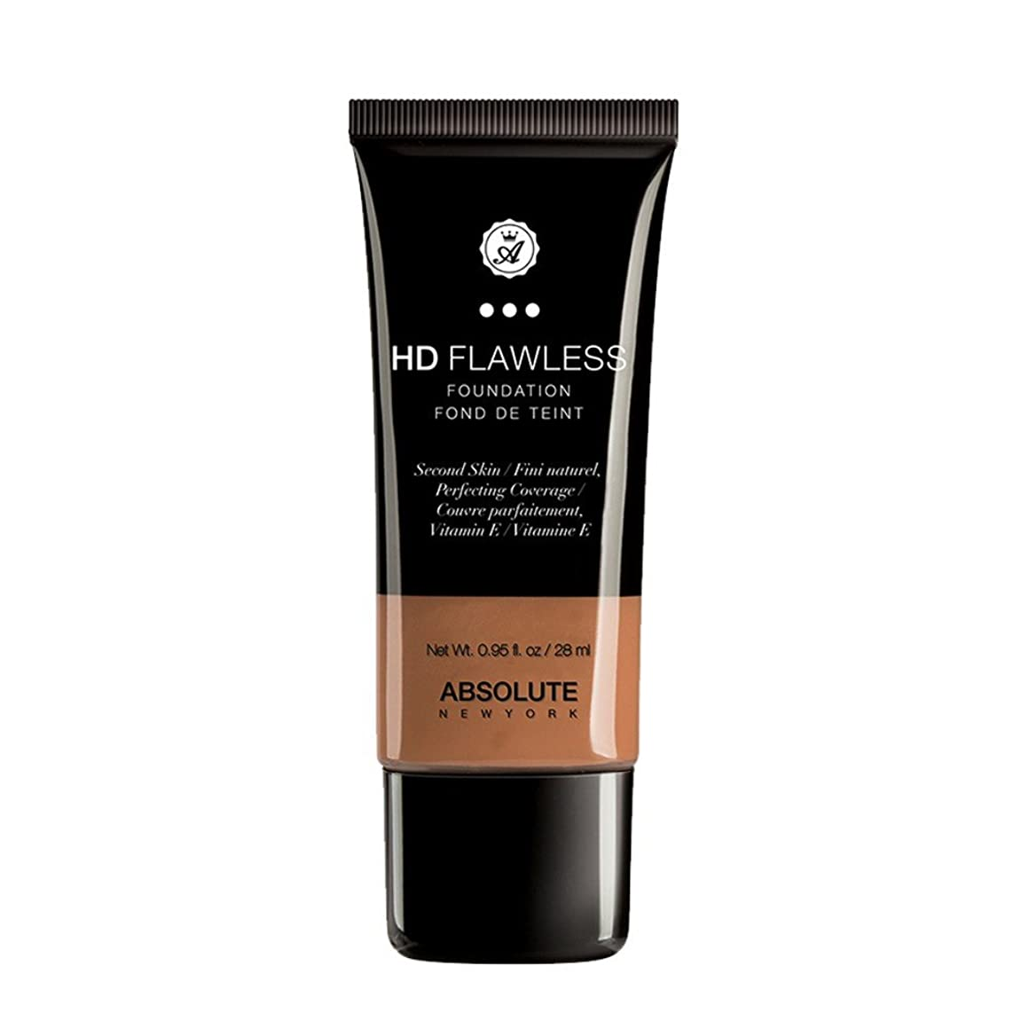 (3 Pack) ABSOLUTE HD Flawless Fluid Foundation - Coffee (並行輸入品)