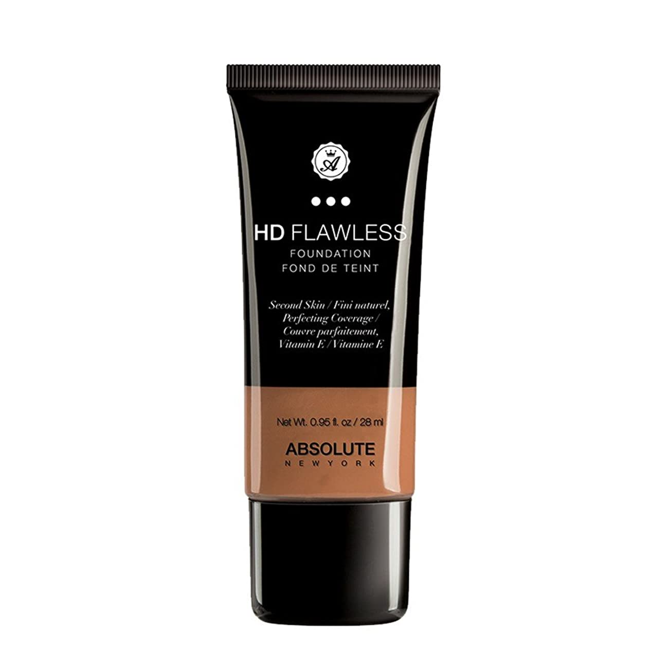 秘密のペグ舌なABSOLUTE HD Flawless Fluid Foundation - Coffee (並行輸入品)