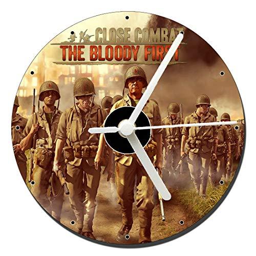 MasTazas Close Combat The Bloody First Orologio CD Clock 12cm