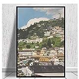 Gigoo Mit Blick auf Quito, Ecuador Leinwanddrucke Leinwand