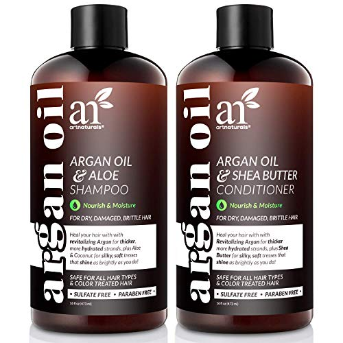 ArtNaturals Organic Moroccan Argan Oil Shampoo and Conditioner