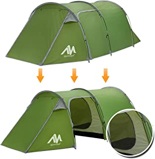 ayamaya 2 Room Tents for Family Camping 1/2/3/4 Person,...