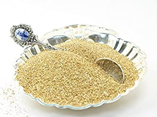 Gold Imported German Glass Glitter - 1 Ounce Jar - Fine 90 Grit (Most Popular Grain Size) Sparkly Glass Glitter - 311-9-007