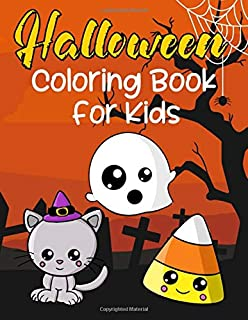 Halloween Coloring Book For Kids: Cute Animals In Costume Books For Boys And Girls Spooky Drawings For Toddlers Large Easy To Draw Trick Or Treat Pictures
