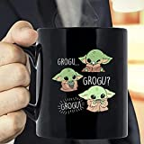 N\A Baby The Yoda The Mandalorian The Child Mug, Baby The Yoda Christmas Mug, Grogu Grogu Grogu Mug