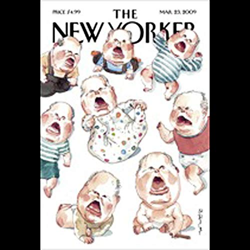 The New Yorker, March 23rd, 2009 (Ron Chernow, Jeffrey Toobin, John McPhee) copertina