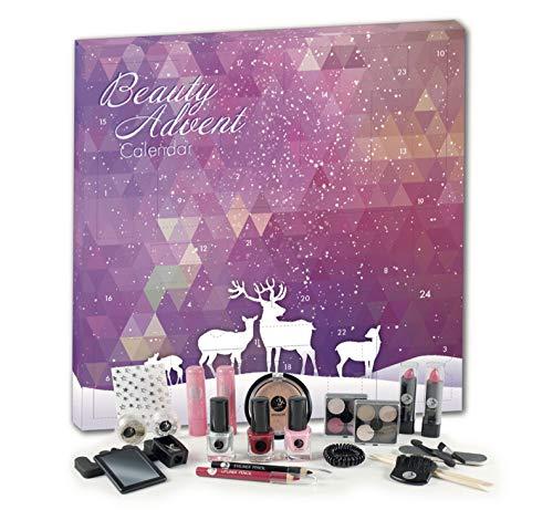 Adventskalender Kosmetik MakeUp Advent Calendar Beauty Damen Women Teens Mädchen Pink Elch