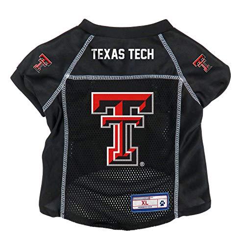 Littlearth NCAA Texas Tech Red Raiders Pet Jersey, XS