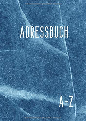 Adressbuch: Telefon und Adressbuch Mit Platz Für Name, Adresse, Geburtstag, Telefon, Mobil, Fax, E-mail - A4, 110 Seiten alphabetisch geordnet