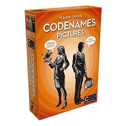 Asmodee Codenames Pictures: Familienspiel