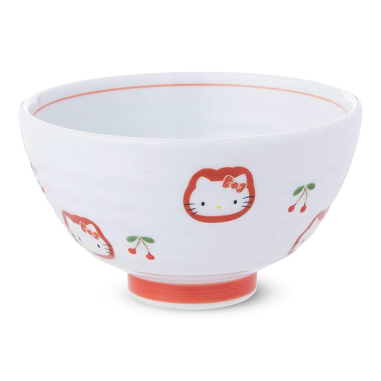 帰る手術ライラックランチャン(Ranchant) 茶碗 マルチ Φ10.7x高さ6.2cm ハローキティ チェリー 有田焼 日本製