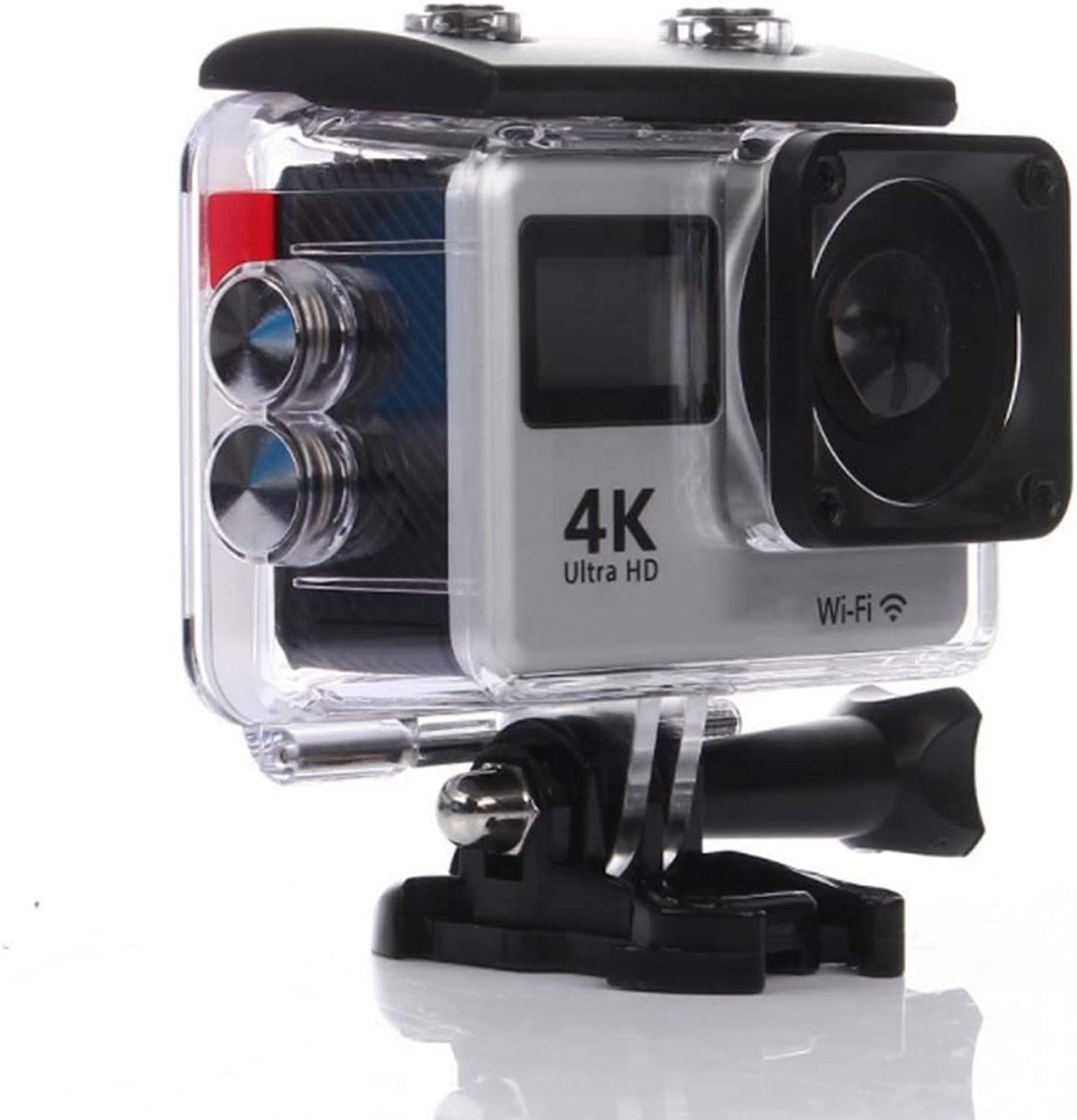 4K Touch Dual Screen Sports DV, WiFi Remote Control Outdoor Waterproof HD Camera Dive Camera, 170 Degree Wide Angle