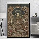 Buddha Wand Bilder Shakyamuni Poster Zen Buddhismus Bild
