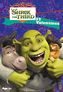 Shrek the Third Valentine Cards 32pk