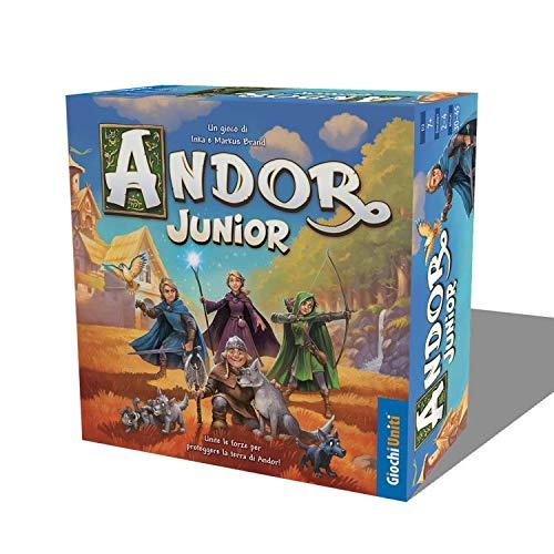 Giochi Uniti-Le Leggende di Andor Junior Gioco da Tavolo, Edizione Italiana, Multicolore, GU686
