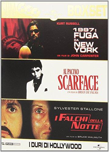 1997: Fuga da New York + Scarface + I falchi della notte(boxset)