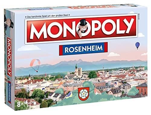 Winning Moves Monopoly Rosenheim Stadt City Edition Gesellschaftsspiel Brettspiel Spiel