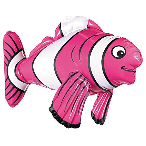 amscan 391728 43 cm Inflatable Striped Fish