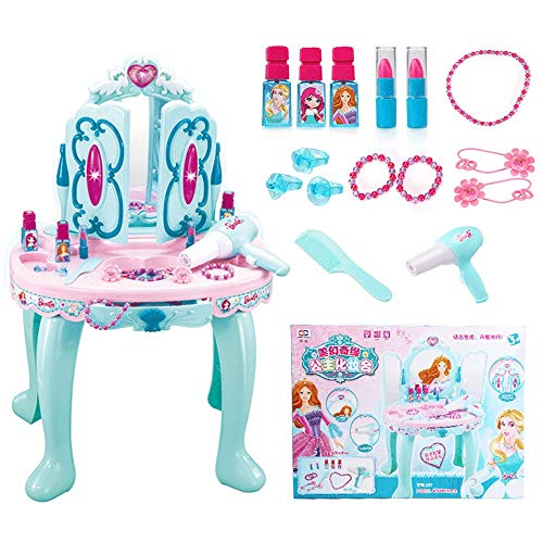 Lowest Price! Play Toy Children's Dressing Table Girl Dress Up Fairy Tale Dream Princess Music Dress...
