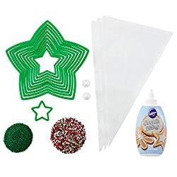 Wilton holiday cookie decorating kit
