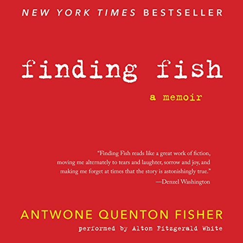 Finding Fish audiobook cover art