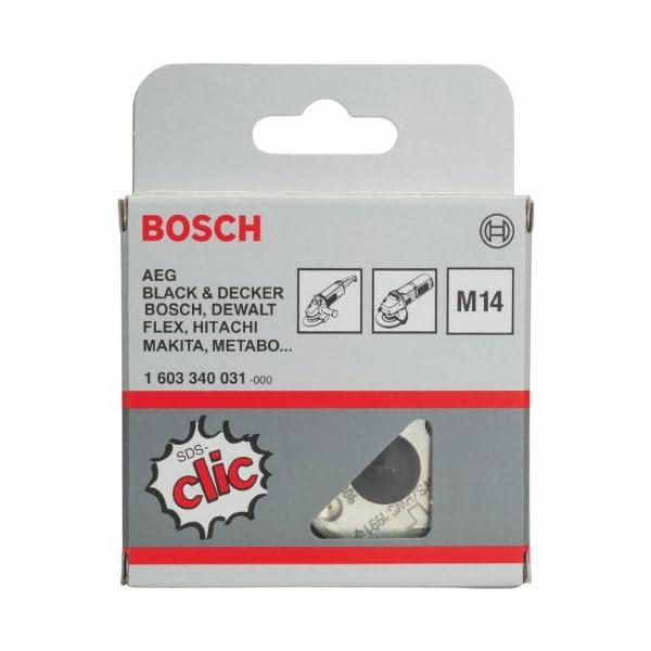Bosch Professional 1 603 340 031 Bosch 031-Tuerca de sujeción rápida-(Pack de 1), Plata