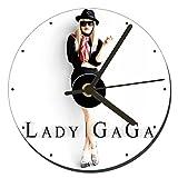 MasTazas Lady Gaga Orologio CD Clock 12cm