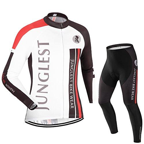 JUNGLEST (Traje tamaño:L) Hombre Ciclismo Ropa Maillots Pantalones pantalón Set Conjunto Jerseys (EU) L=(CN) XXL