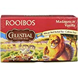 Celestial Seasonings Tea Red Rooibos Madagascar Vanilla (Pack of 3)