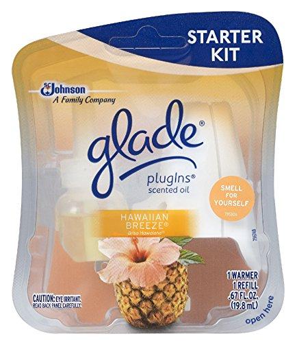 Hawaiian Breeze  Plugins Scented Oil Starter Kit - Glade 73099