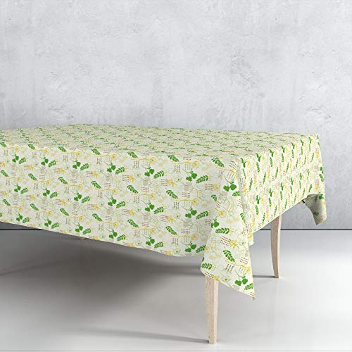 Mantel Hule Motivos Flores Venta por Metros Ancho 140cms Impermeable