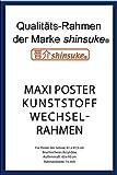 empireposter Wechselrahmen Shinsuke® Maxi-Poster 61,5x91cm Qualitätsrahmen, Profil: 15mm -...