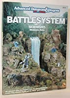 Battlesystem Skirmishes Miniature Rules (Advanced Dungeons & Dragons, 2nd Edition) 1560761415 Book Cover