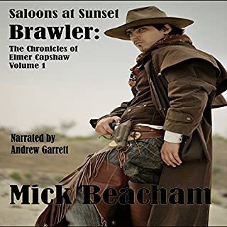 Saloons at Sunset audiobook cover art