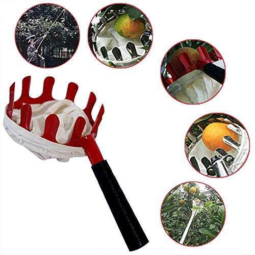 Glomixs Fruit Picker Large Capacity Bag Harvester Agricultural Home Garden Tools