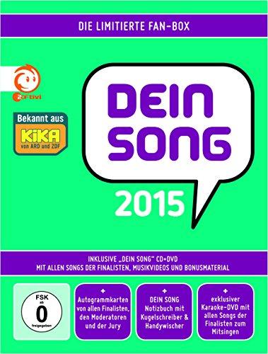 Dein Song 2015 - Die limitierte Fan-Box (CD + DVD)