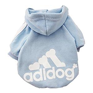 josep.h Vêtement Qui Tient Chaud pour Les Chiens en Hiver, Adidog T-Shirt de Coton, Bien Chaude et Toute Douce, Vêtement Indispensable pour Un Hiver Bien au Chaud