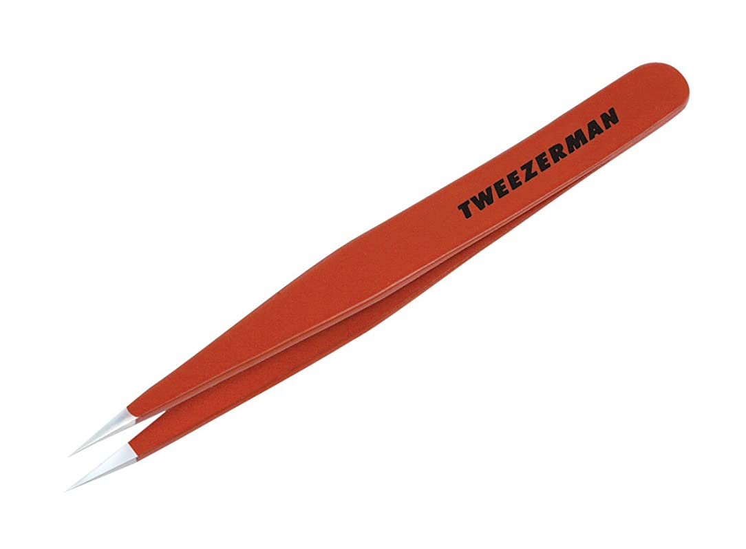 新鮮な適応的古代TWEEZERMAN ポイント ツイーザー レッド 58400-089