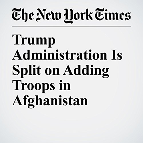 Trump Administration Is Split on Adding Troops in Afghanistan copertina