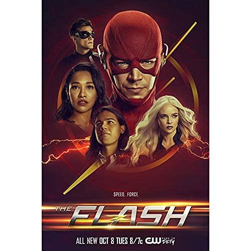Official - Póster de The Flash (Grant Gustin) 2020 (27 x 41 pulgadas)